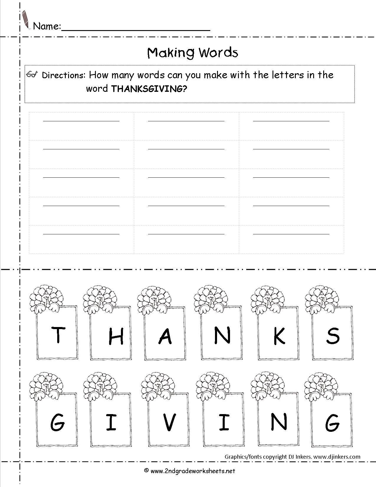 1st Grade Thanksgiving Worksheets Happy Thanksgiving Worksheets First Grade