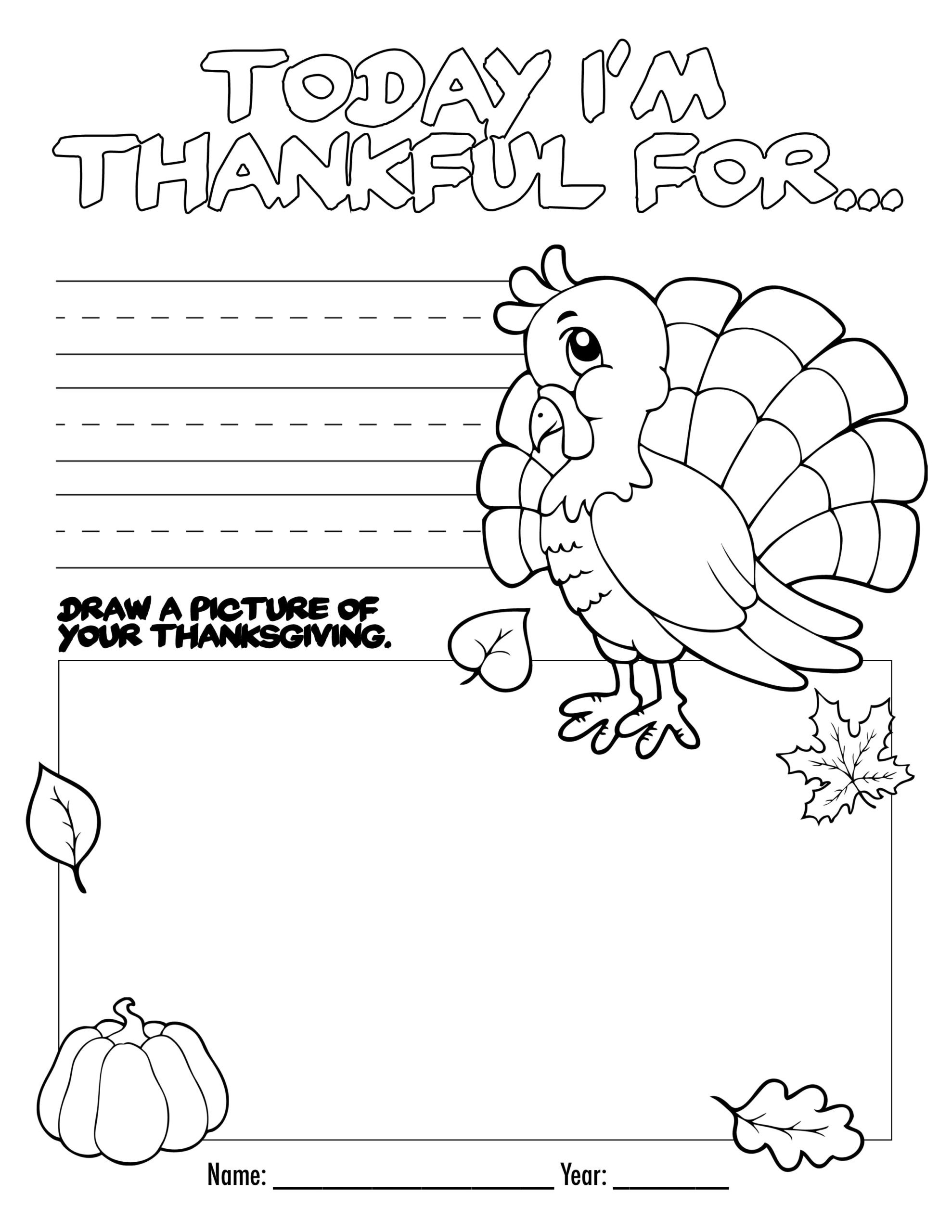 1st Grade Thanksgiving Worksheets Math Worksheet Remarkablegiving Coloring Printable
