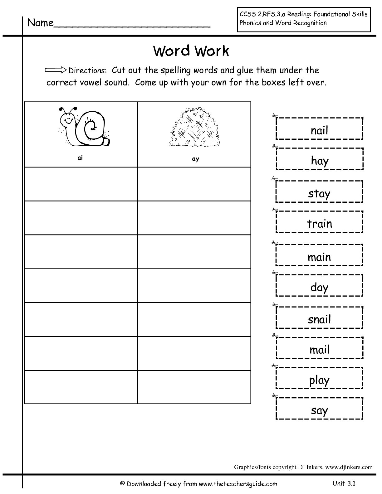 2nd Grade Spelling Worksheet Free 2nd Grade Spelling Worksheets 2nd Grade Free