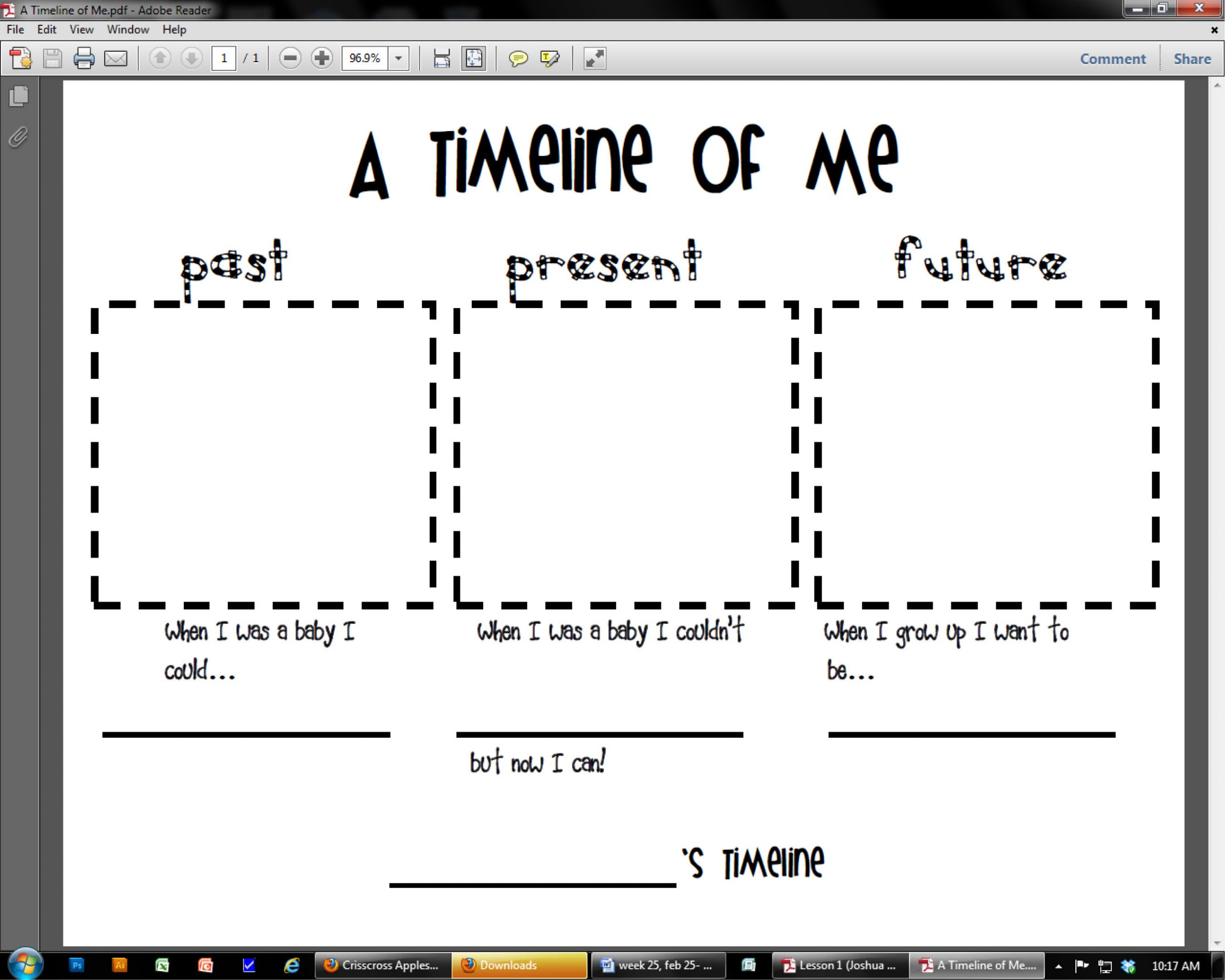 2nd Grade Timeline Worksheets Timeline – Two Apples A Day