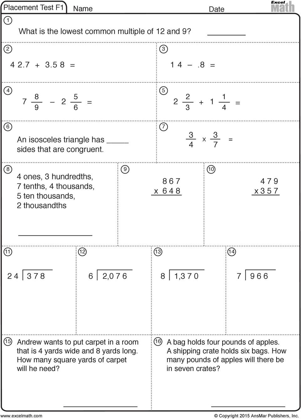 3d Shapes Worksheets 2nd Grade Math Facts Basketball First Grade Hidden Picture Math