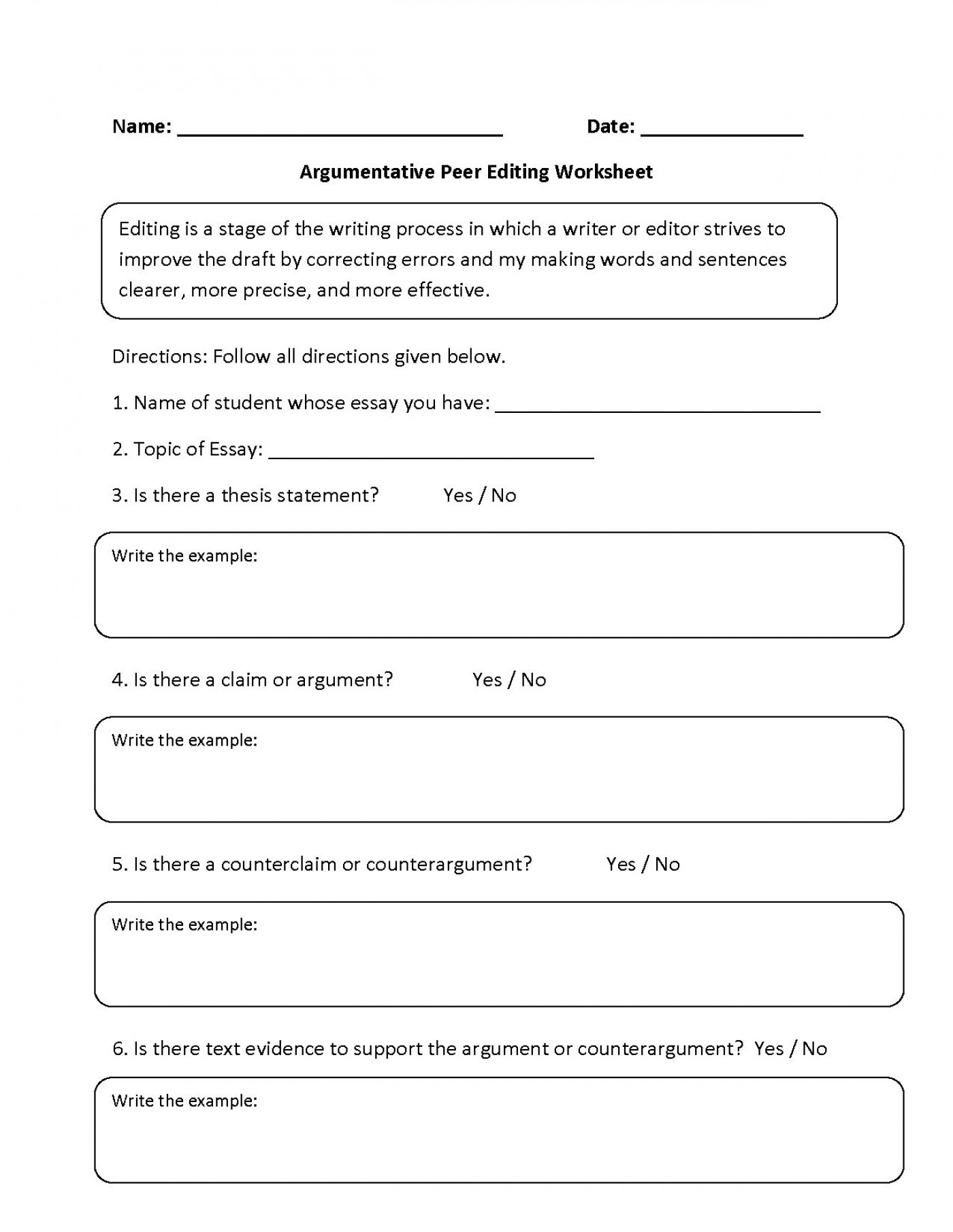 3rd Grade Essay Writing Worksheet for Essay Writing Worksheet Grade 4