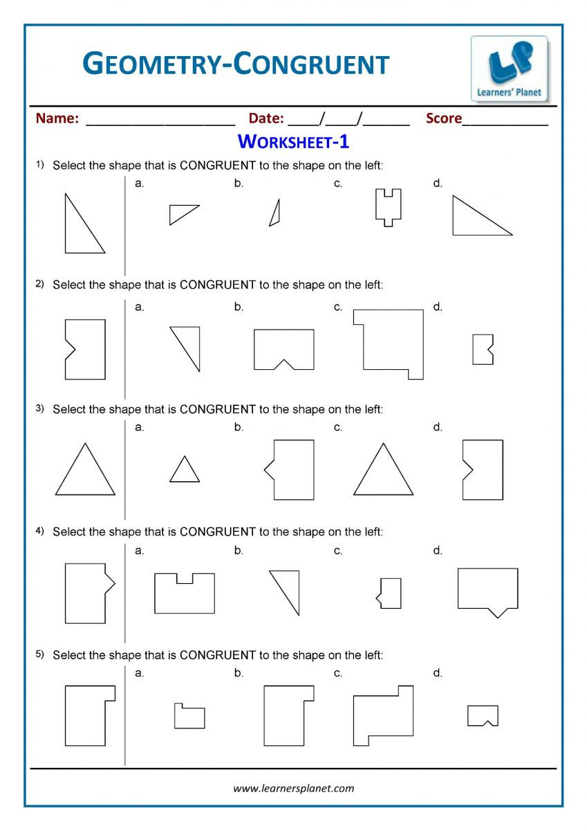 3rd Grade Geometry Worksheets Pdf 3rd Grade Geometry Worksheets Printables