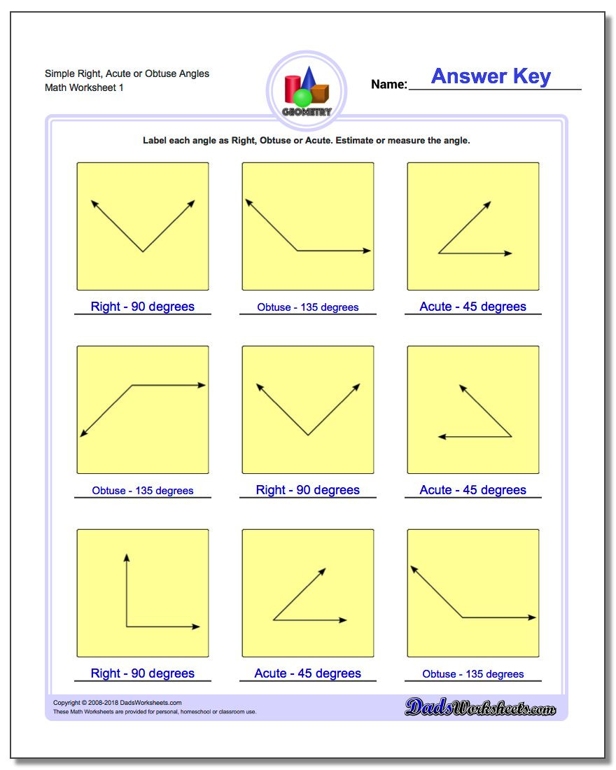 3rd Grade Geometry Worksheets Pdf Basic Geometry