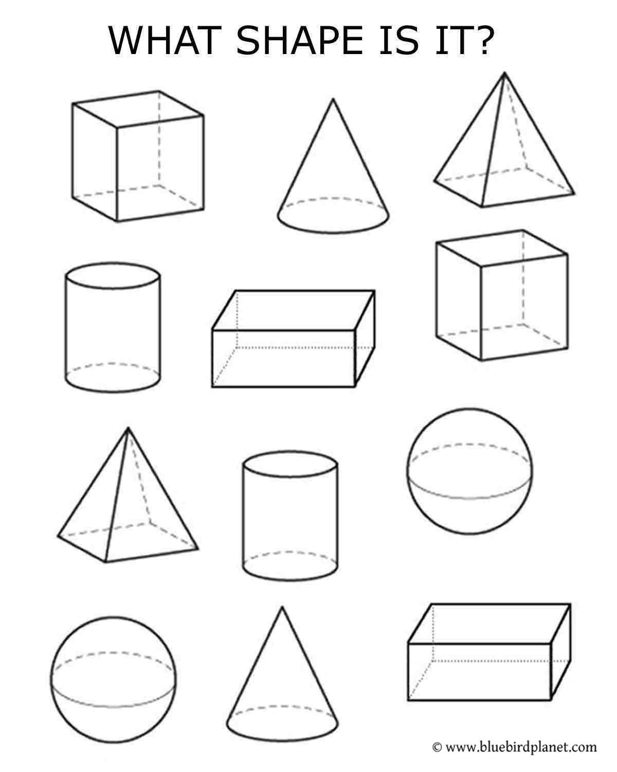 3rd Grade Geometry Worksheets Pdf Free Printable Worksheets for Preschool Kindergarten 1st
