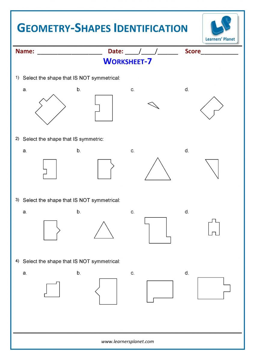 3rd Grade Geometry Worksheets Pdf Third Grade Cbse Math Worksheets Printable
