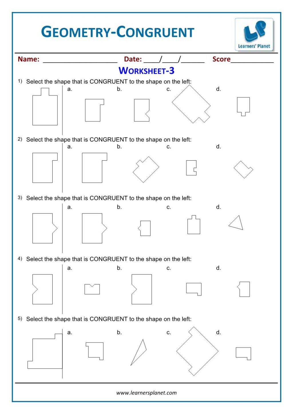 3rd Grade Geometry Worksheets Pdf Worksheet Grade Geometry Worksheets Cbse Class Line Math