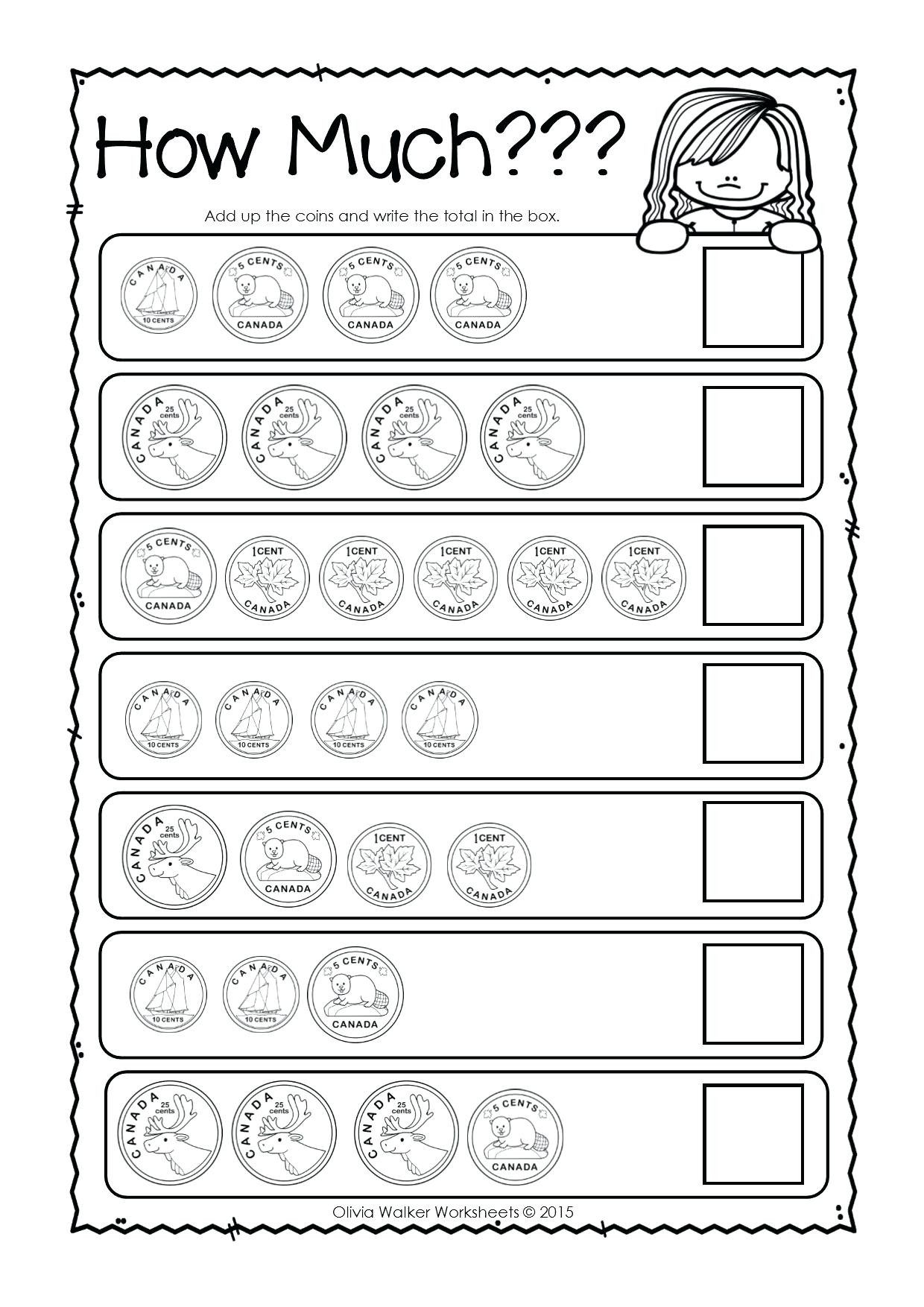 3rd Grade Money Worksheets Counting Money Worksheets to Print Counting Money
