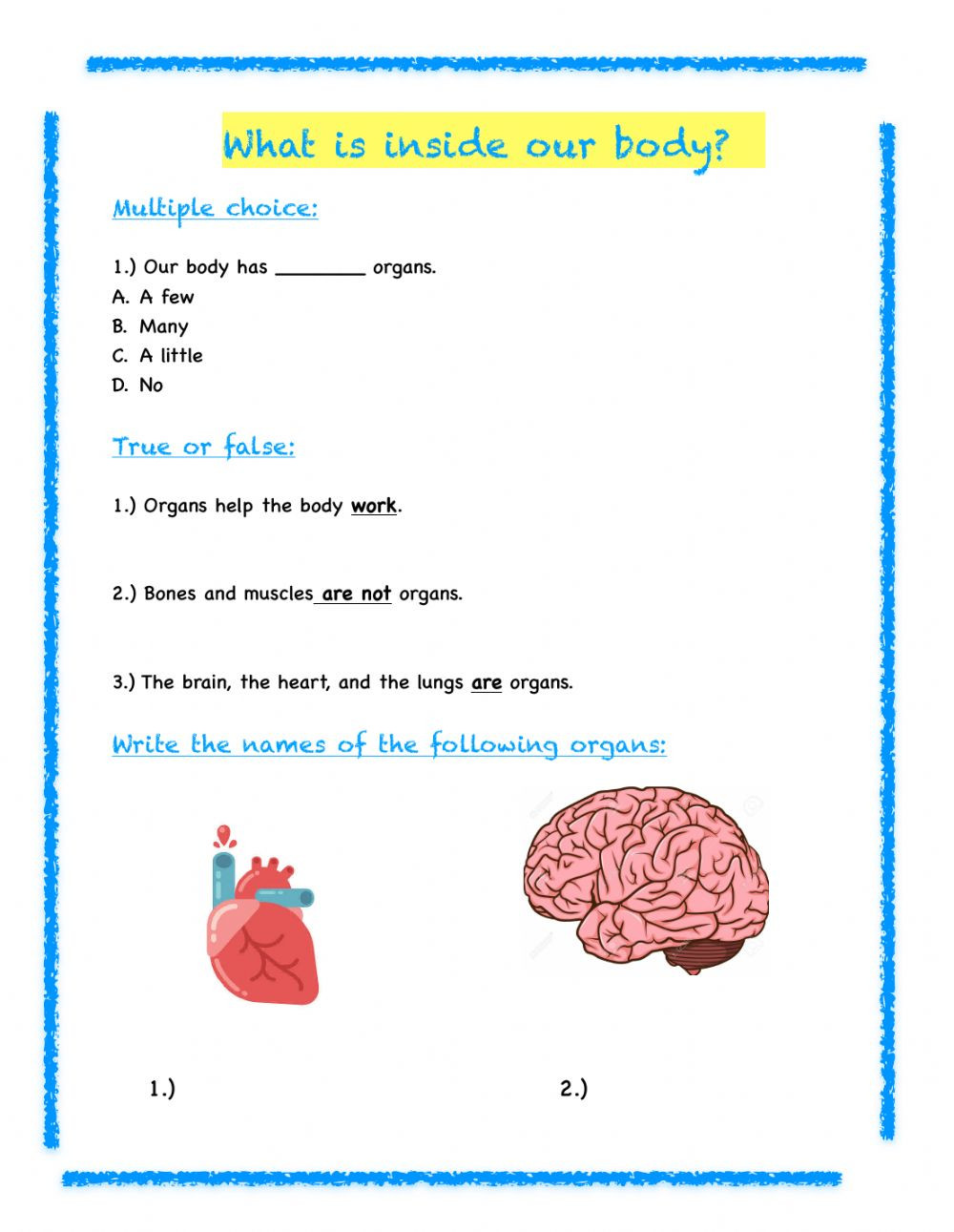 3rd Grade Science Worksheets 3rd Grade Science Review Interactive Worksheet