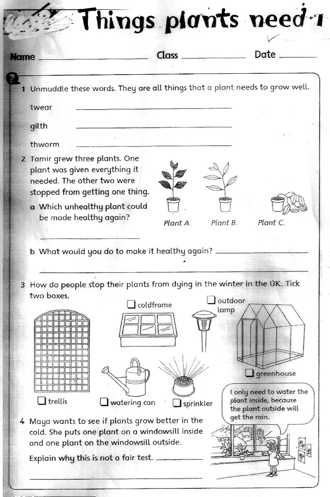 3rd Grade Science Worksheets Free 3rd Grade Science Worksheets Printable and Plant for