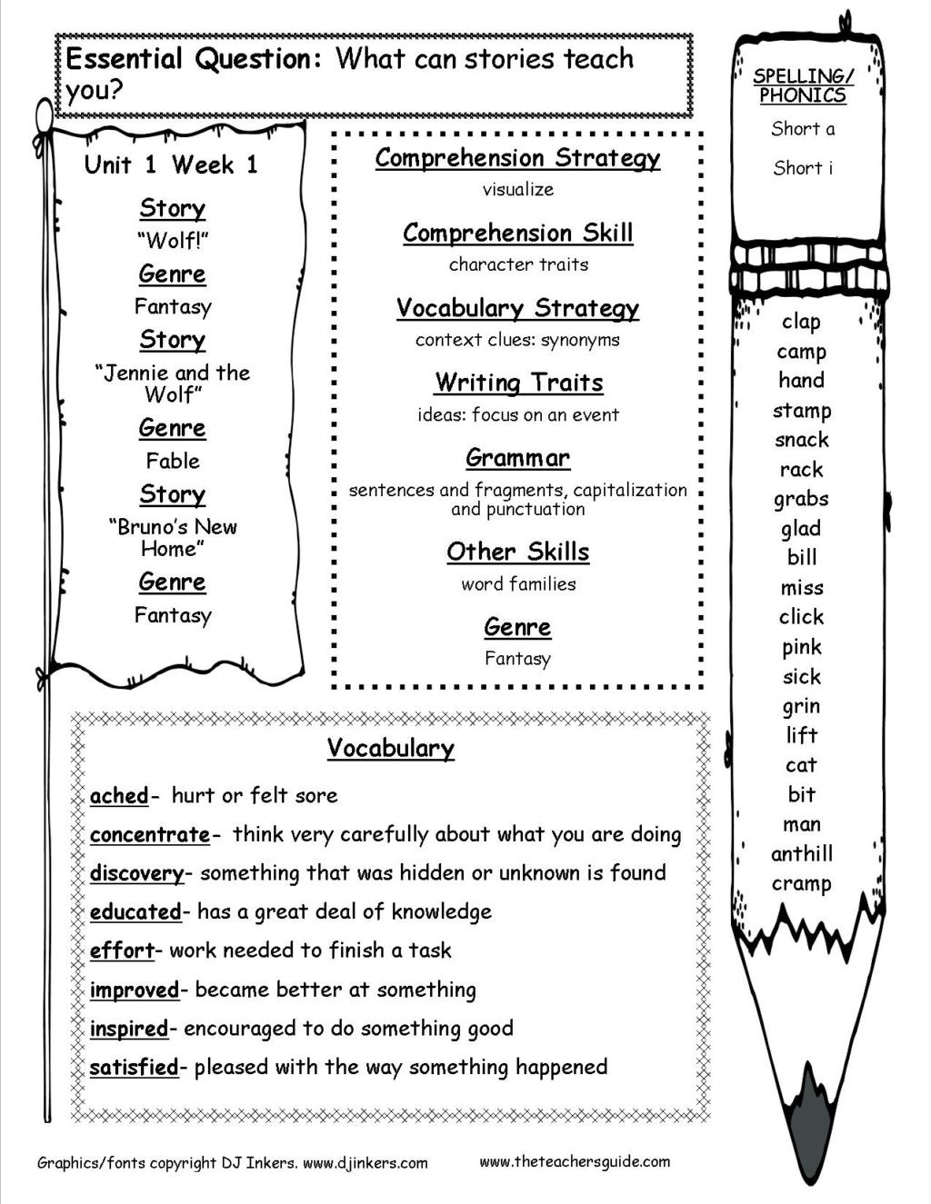 3rd Grade Vocabulary Worksheets Pdf Worksheet Vocabulary 3rd Grade Barka Third Reading