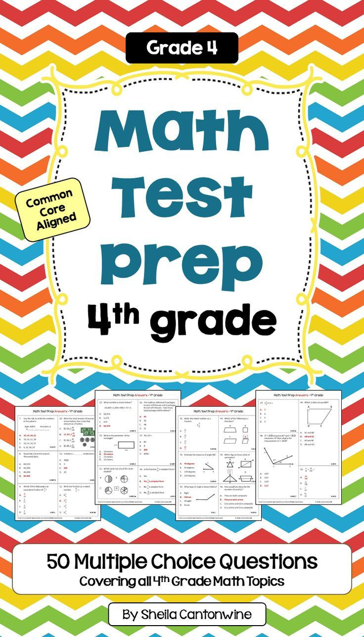 4th Grade Test Prep Worksheets Math Test Prep 4th Grade Review Worksheets