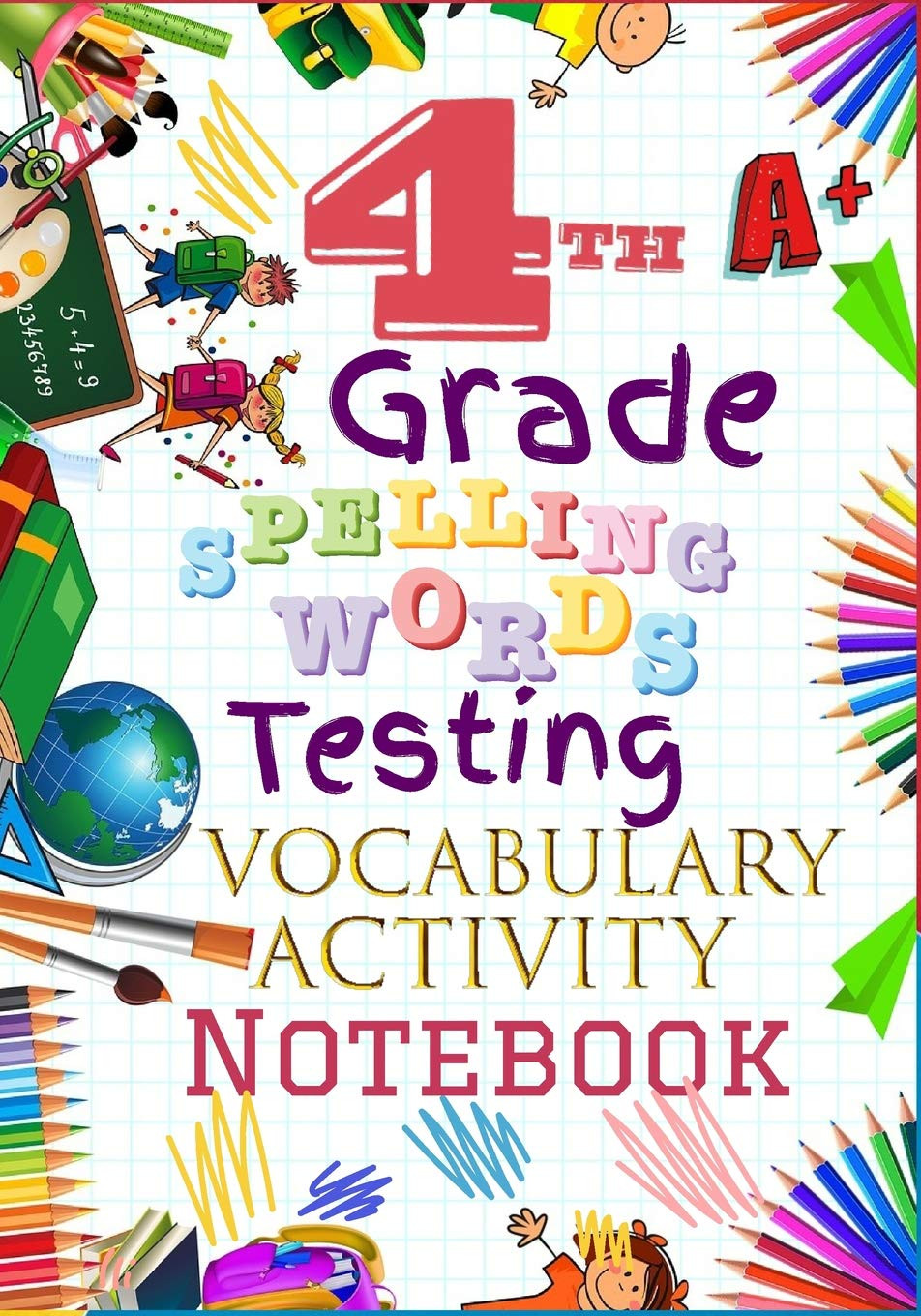 4th Grade Vocabulary Worksheets 4th Grade Spelling Words Testing Vocabulary Activity