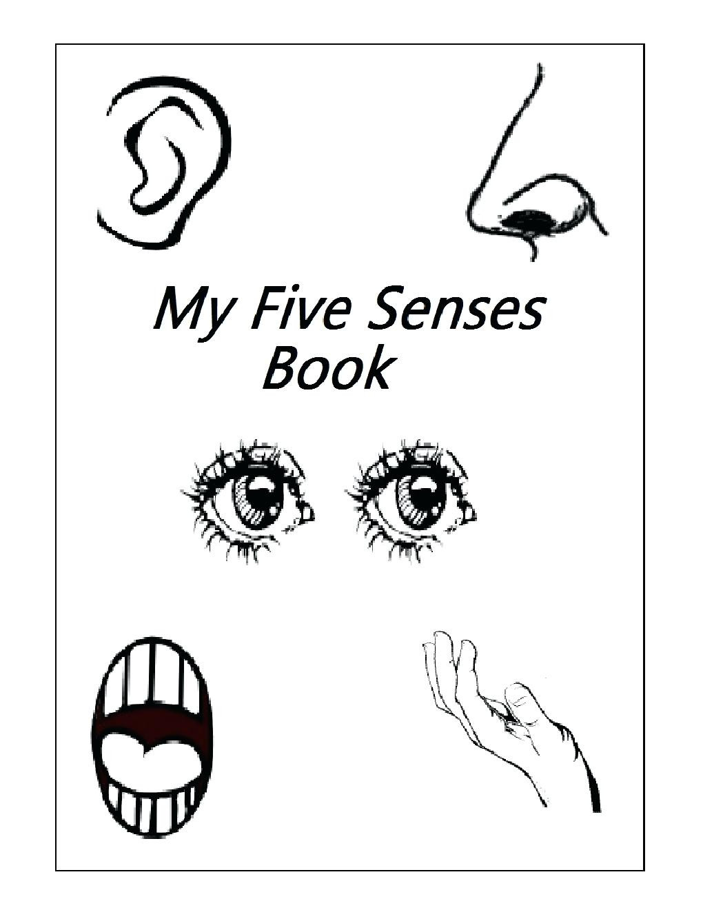 5 Senses Worksheet Preschool Five Senses Activities for Kindergarten Crafts Nose Headband