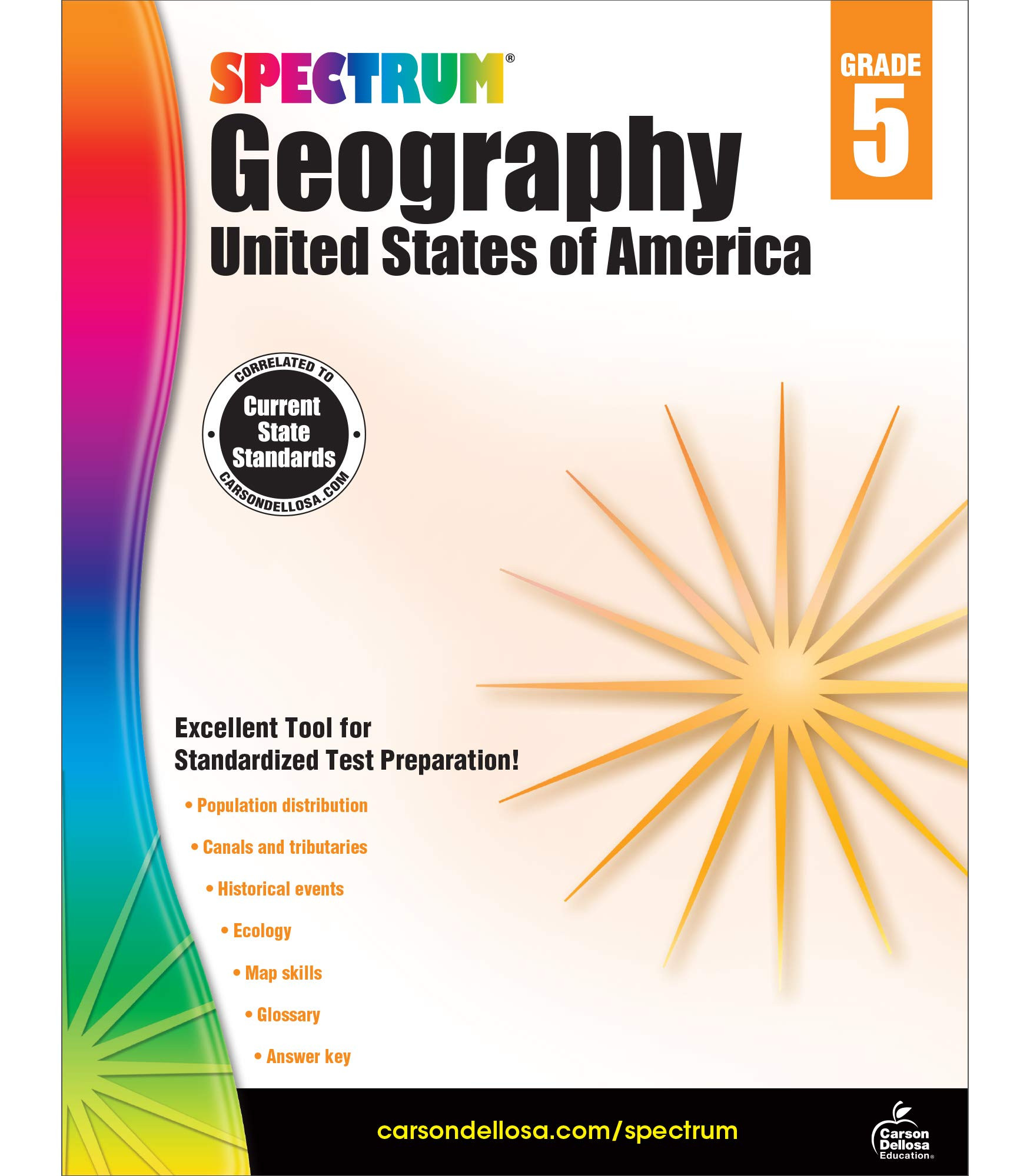 5th Grade Geography Worksheets Spectrum