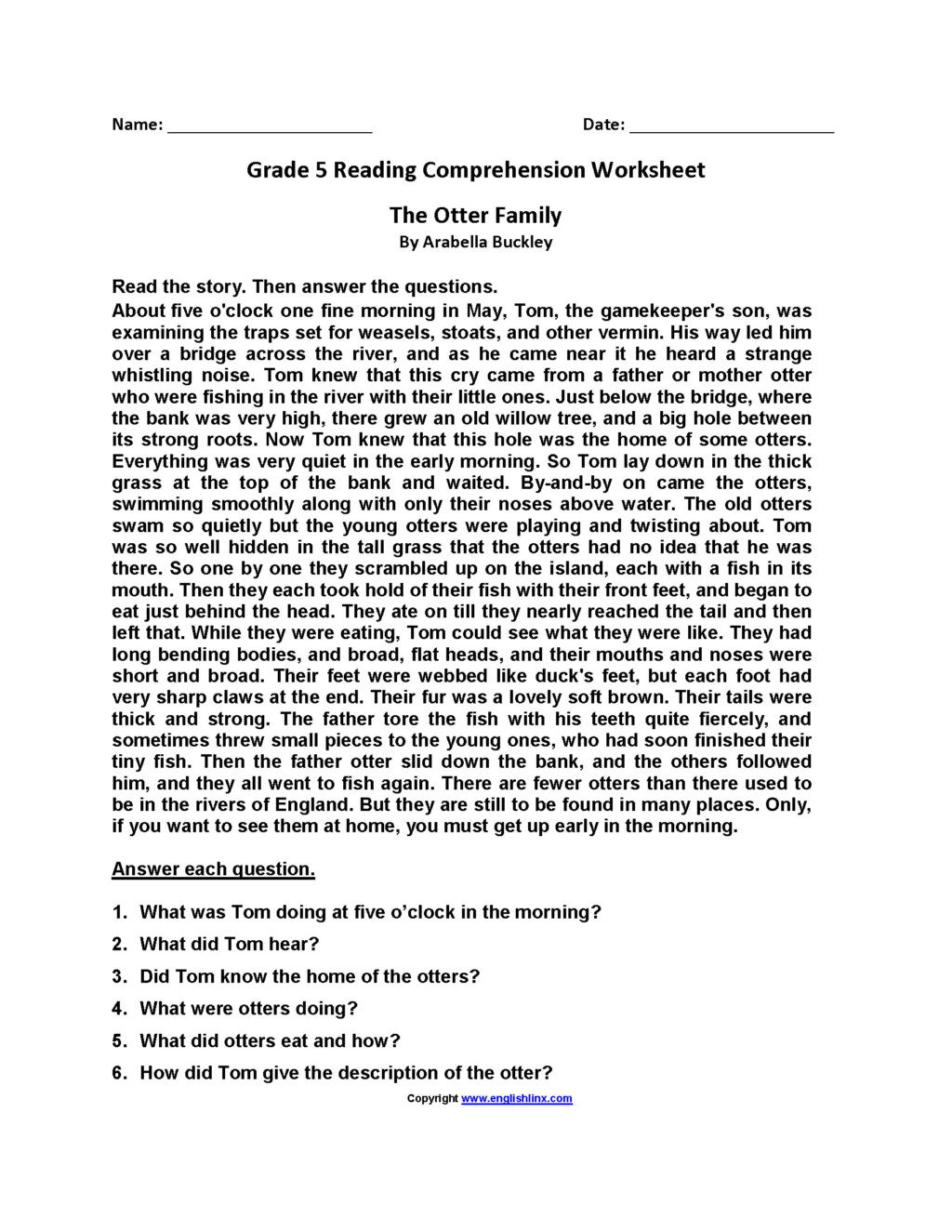 5th Grade Main Idea Worksheets Worksheet Worksheet Free Third Grade Sequencing Worksheets