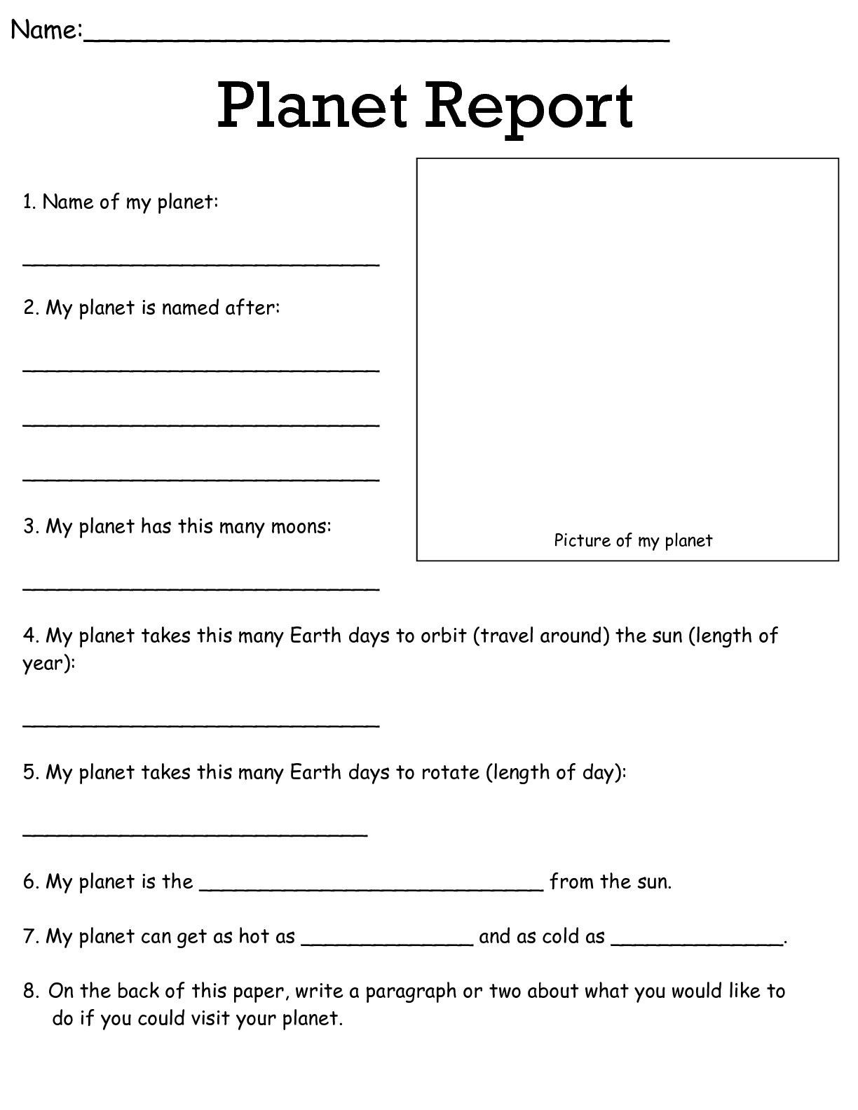 7 Grade Science Worksheets Job Worksheets 5th &6th