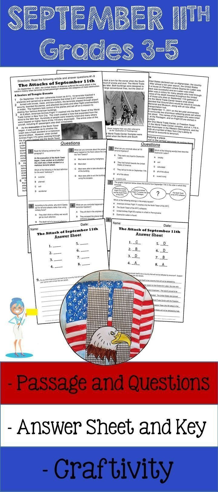 9 11 Reading Comprehension Worksheets 9 11 Reading Prehension Worksheets September 11th Reading
