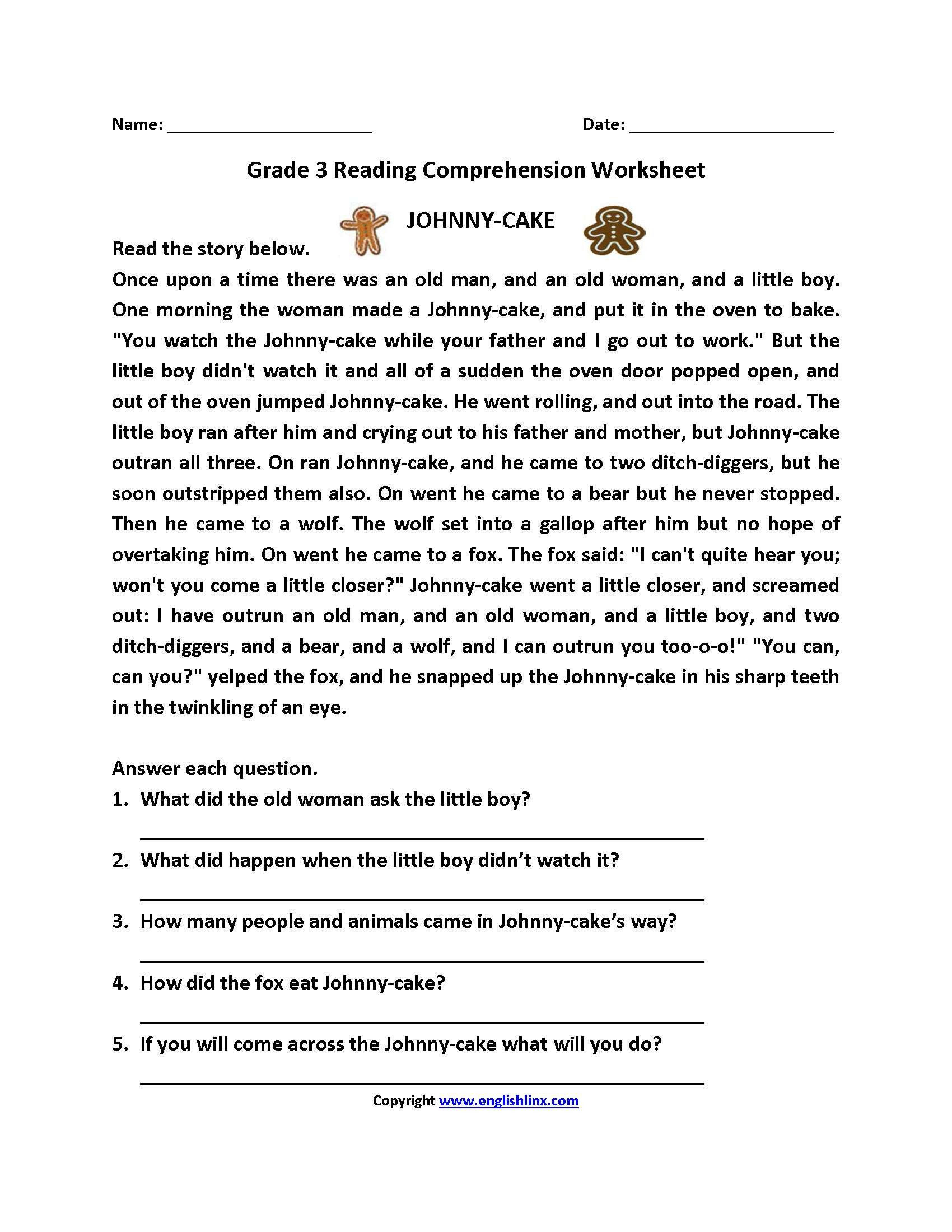 9th Grade Reading Comprehension Worksheet 5 Reading Reading Prehension 9 11 Reading Prehension