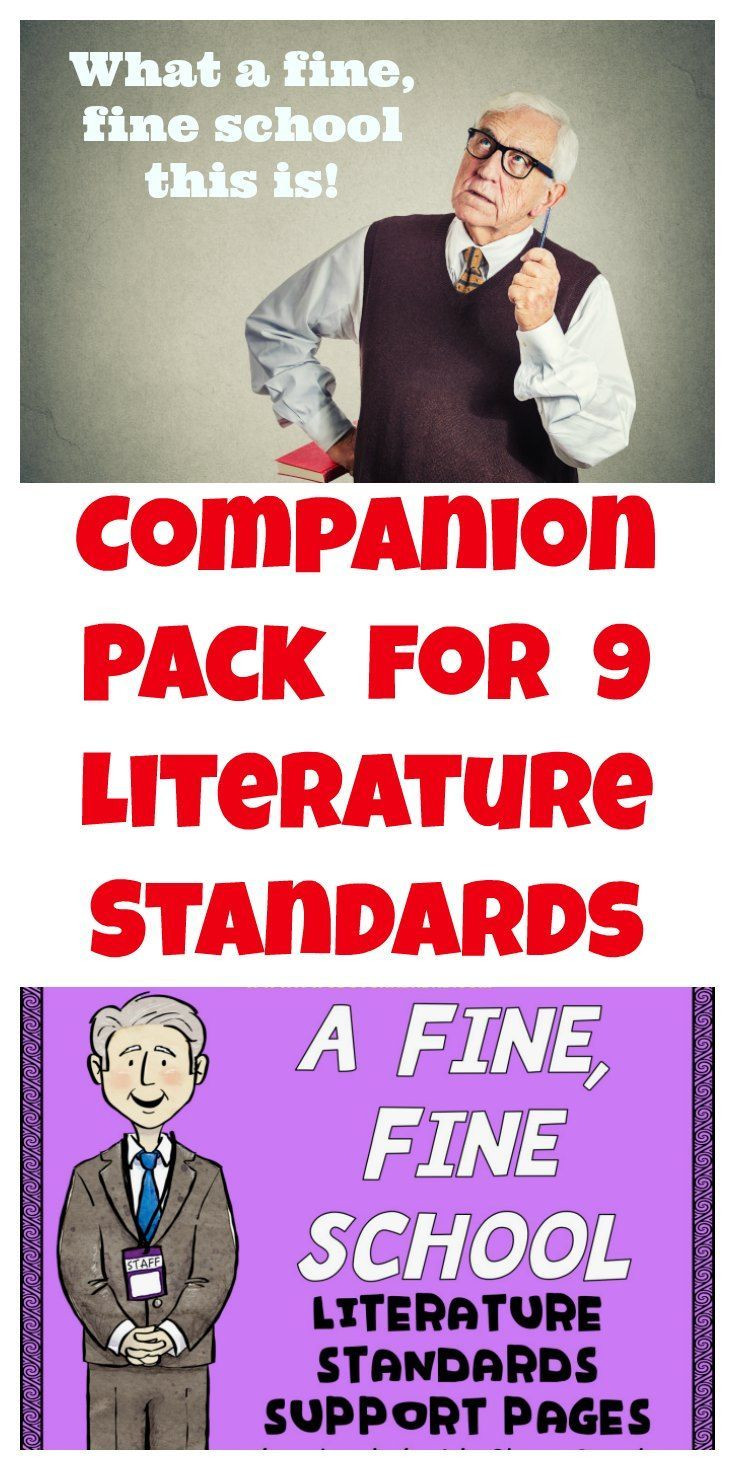 A Fine Fine School Worksheets A Fine Fine School Literature Standards Support Worksheets