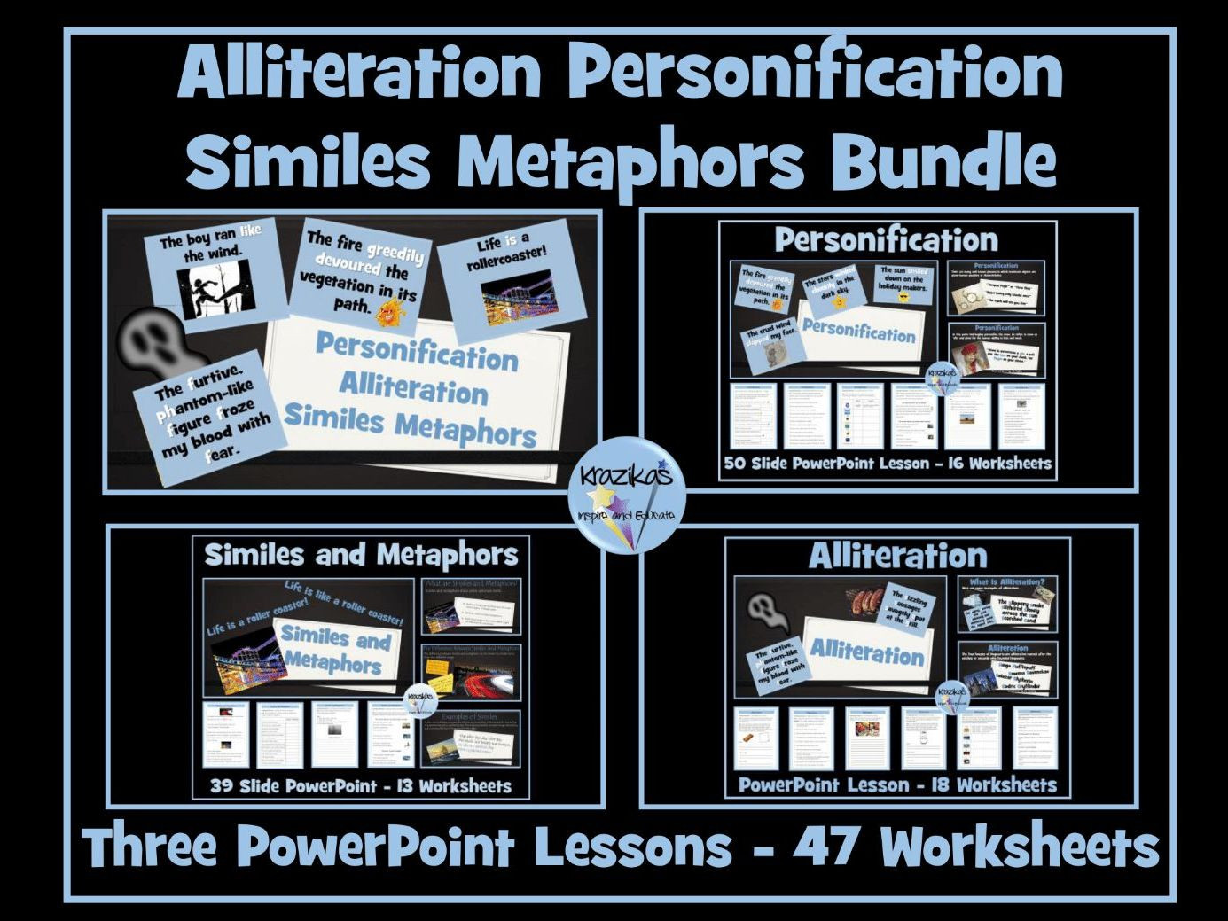 Alliteration Worksheets Middle School Alliteration