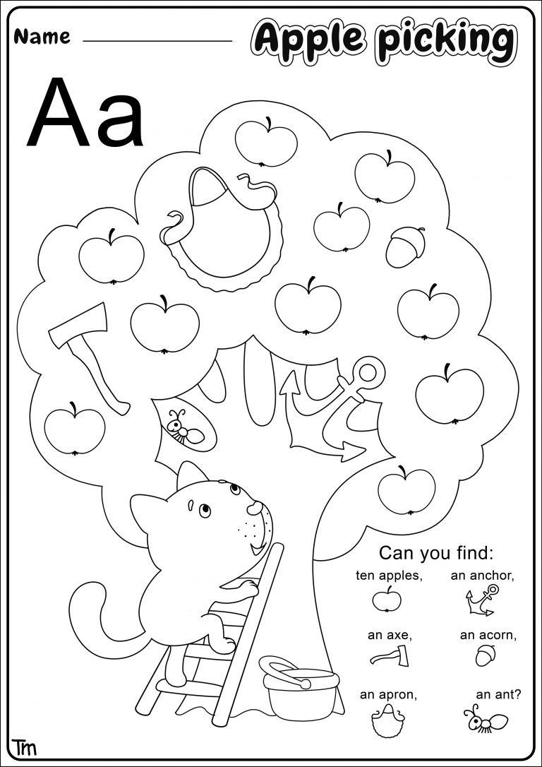 Apple Worksheets Preschool Apples & where they E From Preschool theme Worksheets