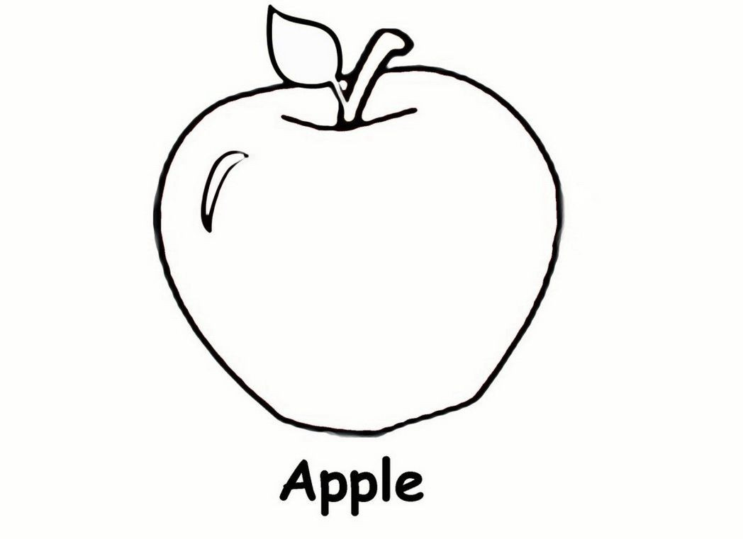 Apple Worksheets Preschool Printable Coloring Preschool Pages and Worksheets Apple for