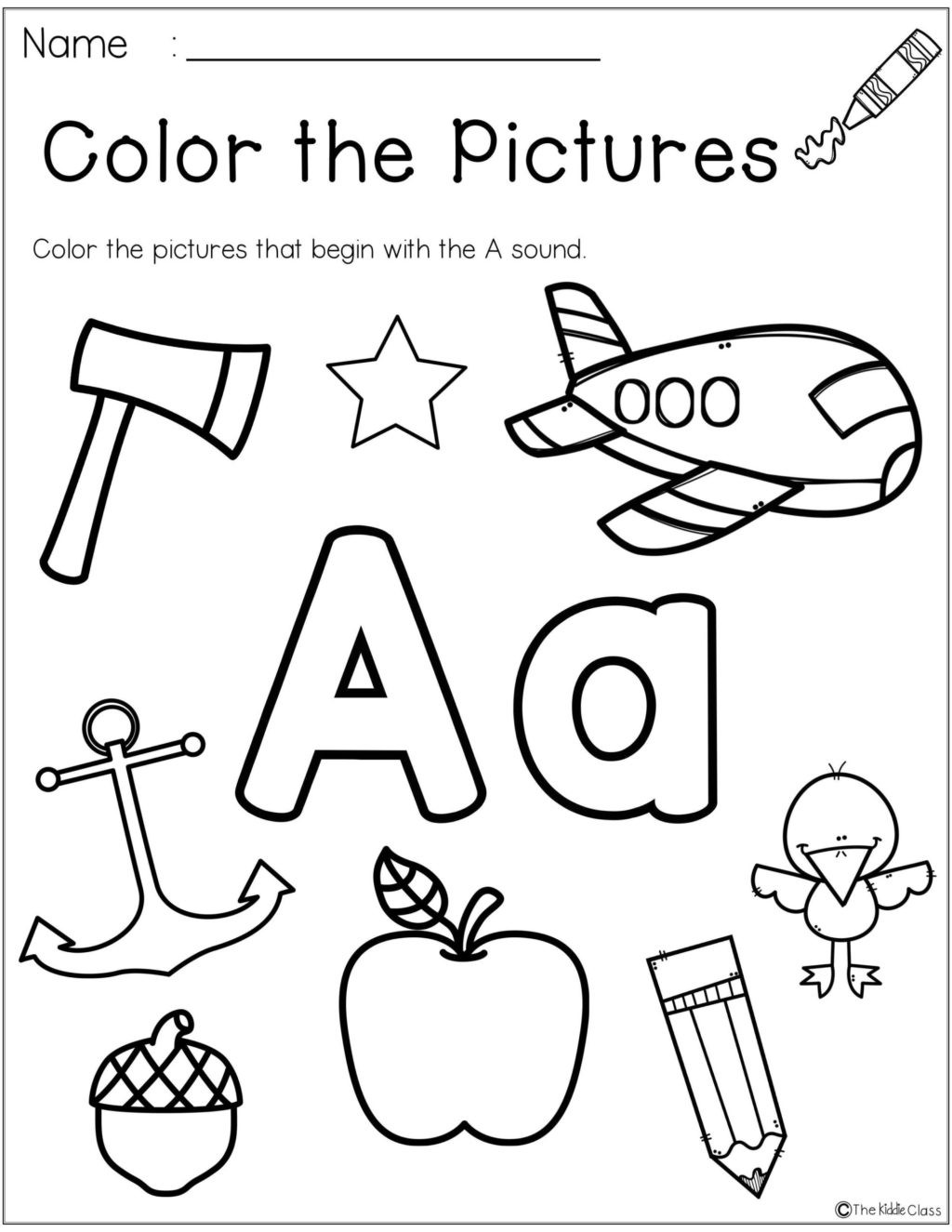 Apple Worksheets Preschool Worksheet Phenomenal Preschool English Worksheets Image