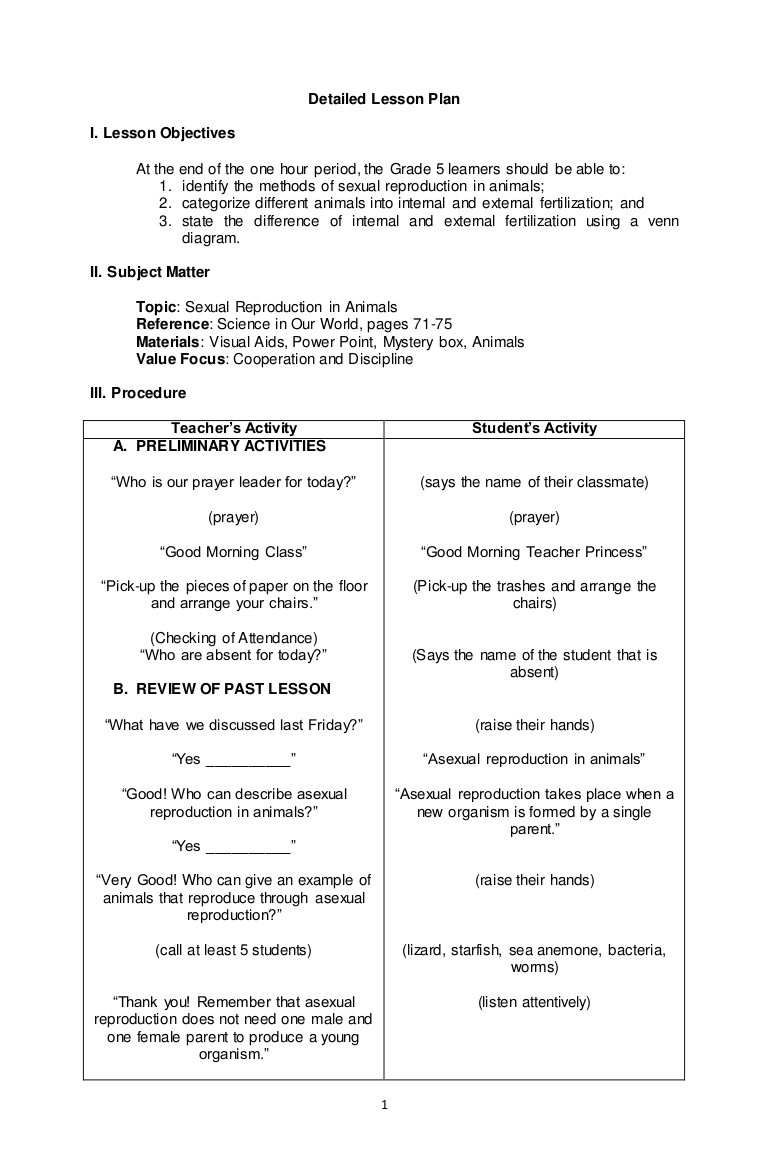 Asexual Reproduction Worksheets Middle School Ual Reproduction In Animal Internal and External