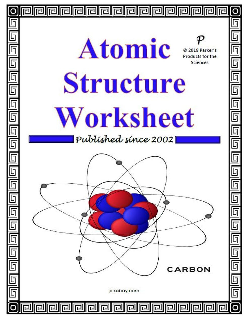 Atom Structure Worksheet Middle School atomic Structure Worksheet