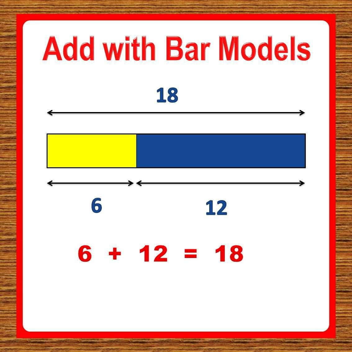 Bar Model Math Worksheets 1st Grade Math Worksheets Add with Bar Models Tape