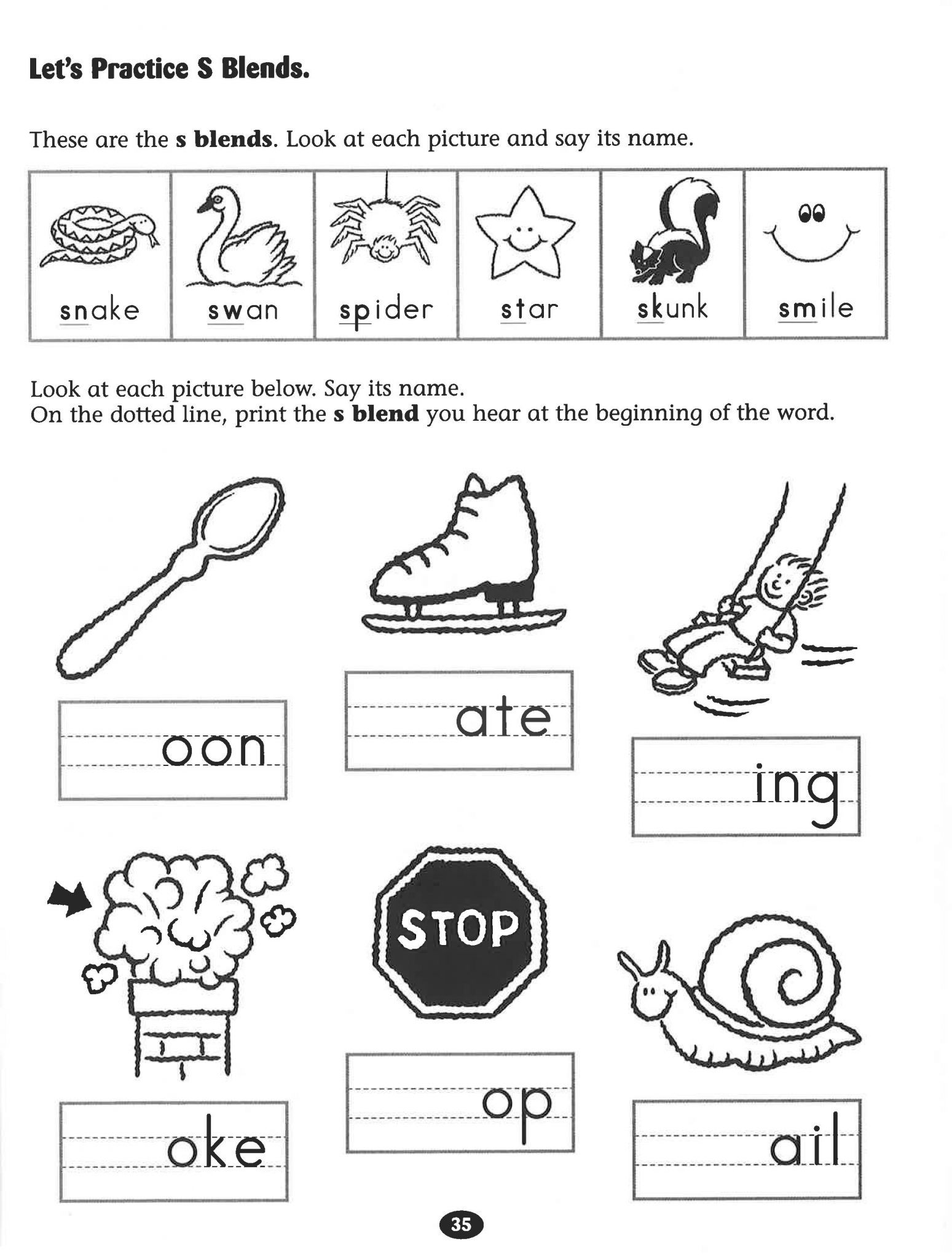 Blends Worksheet for First Grade Consonant Blends Gr Worksheets Grade 1