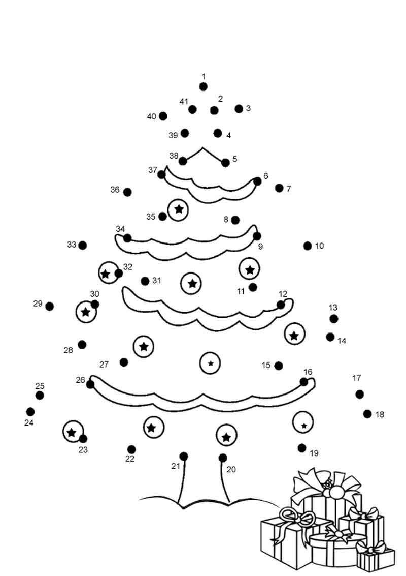 Christmas Connect the Dots Printable Christmas Connect the Dots Printable