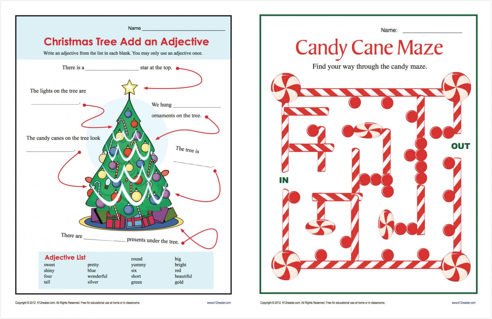 Christmas Worksheets 5th Grade Popular Christmas Worksheets Pdf for Free Print and