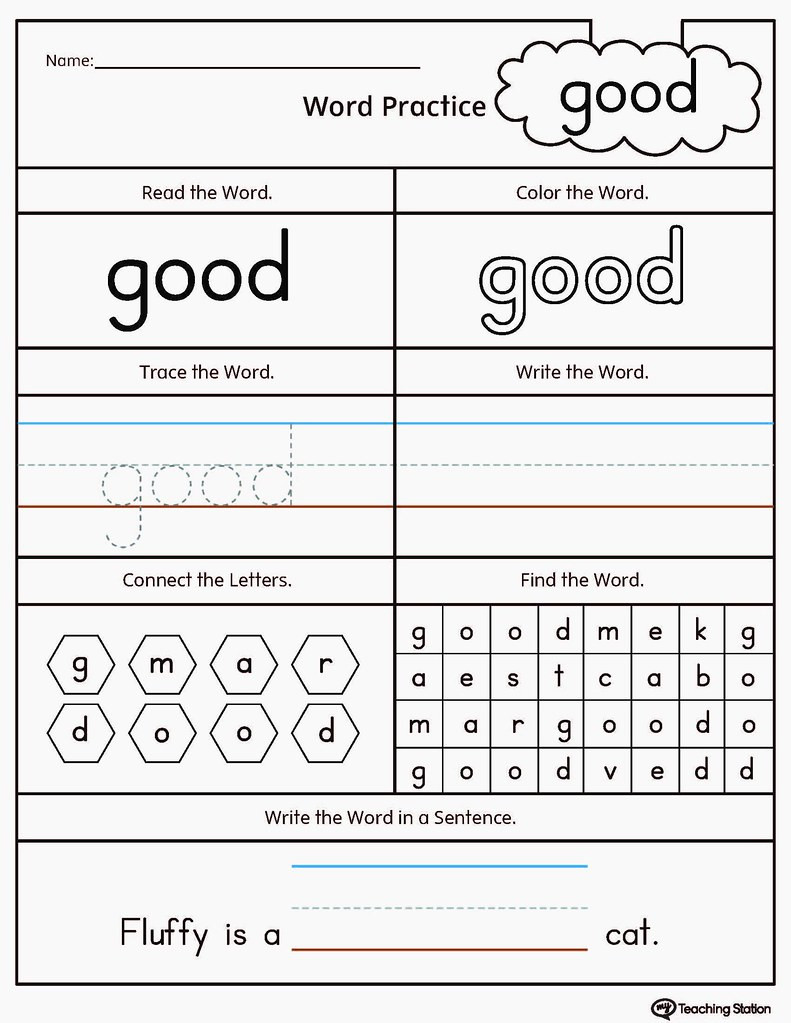 Color Words Handwriting Worksheets Math Worksheet 8ff14ffd30 B Improve