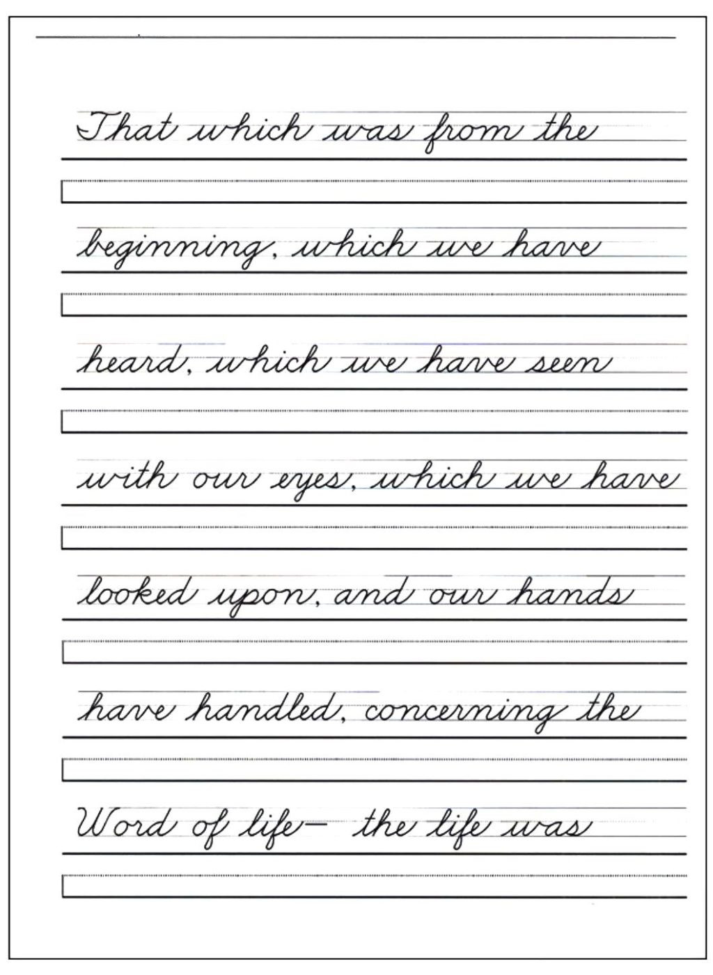 Color Words Handwriting Worksheets Worksheet Blank Handwriting Worksheets Free Booklet Pdf