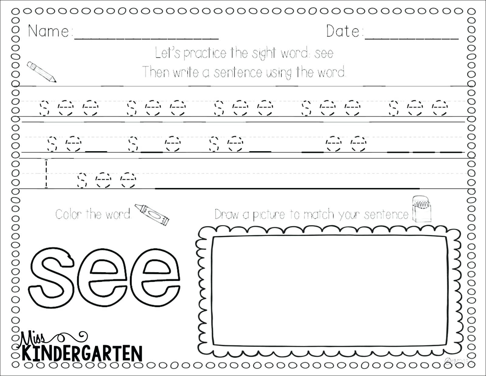 Color Words Handwriting Worksheets Worksheet Easy Cursive Letters for Free Printable