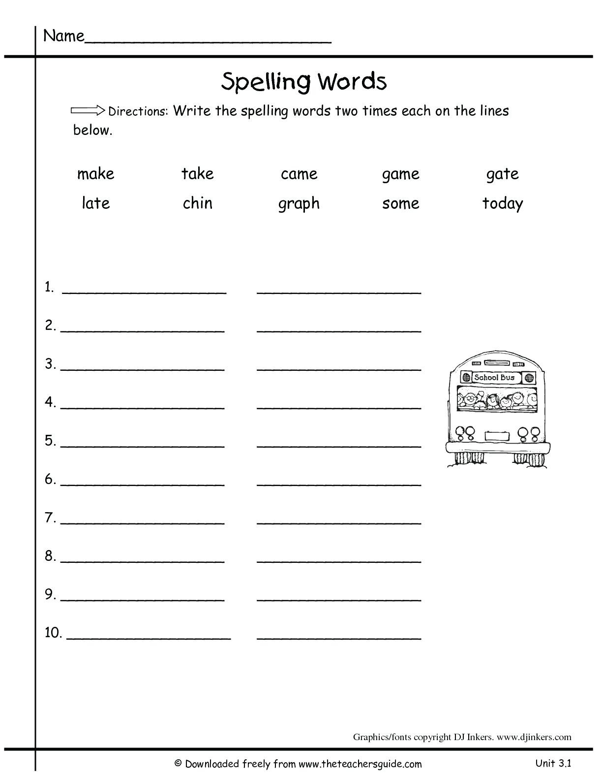 Color Words Handwriting Worksheets Worksheet Reading Sight Words for Kindergarten Christmas