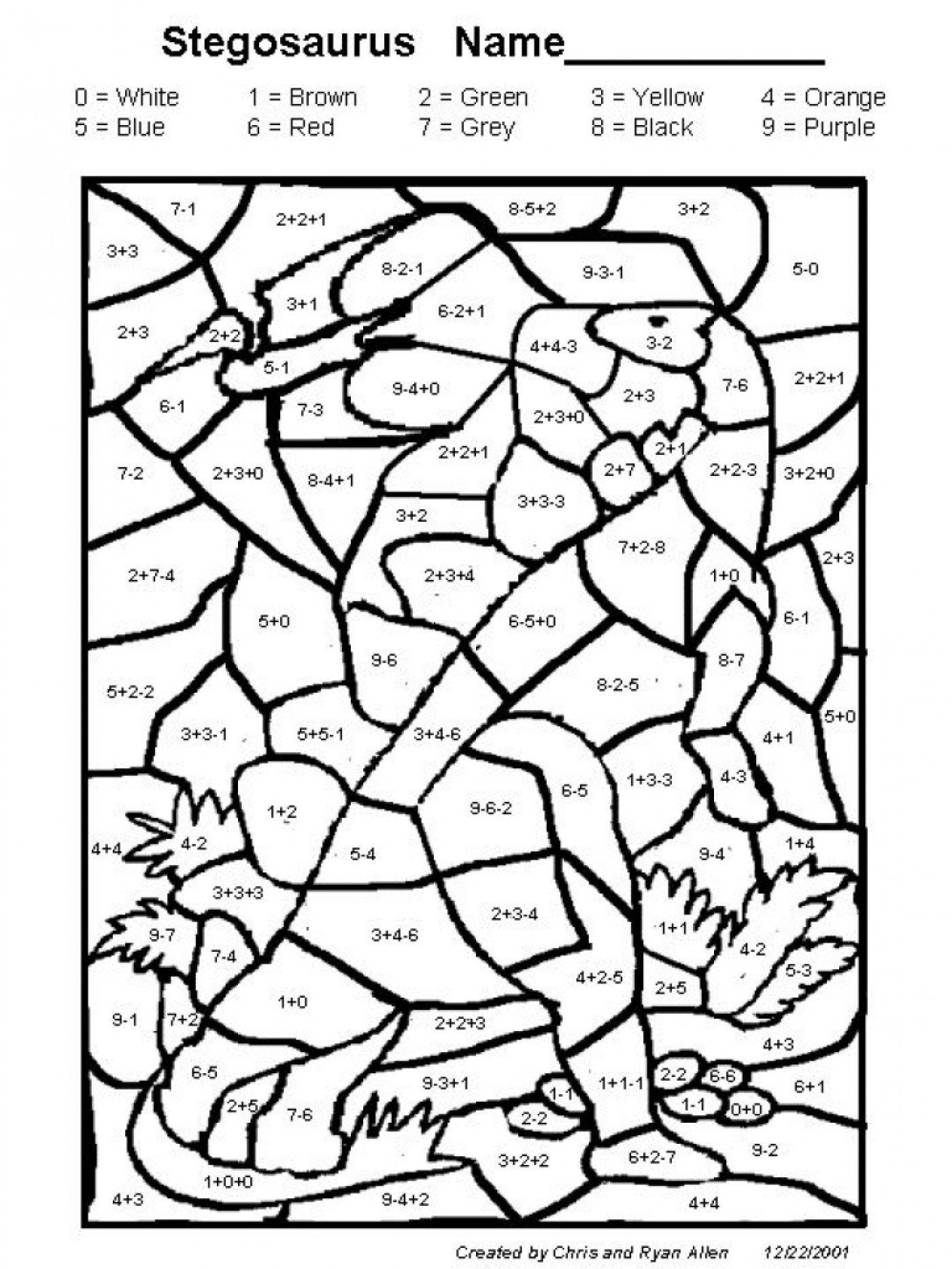 Coloring Worksheets for 2nd Grade Excellent Image Of Addition Coloring Pages