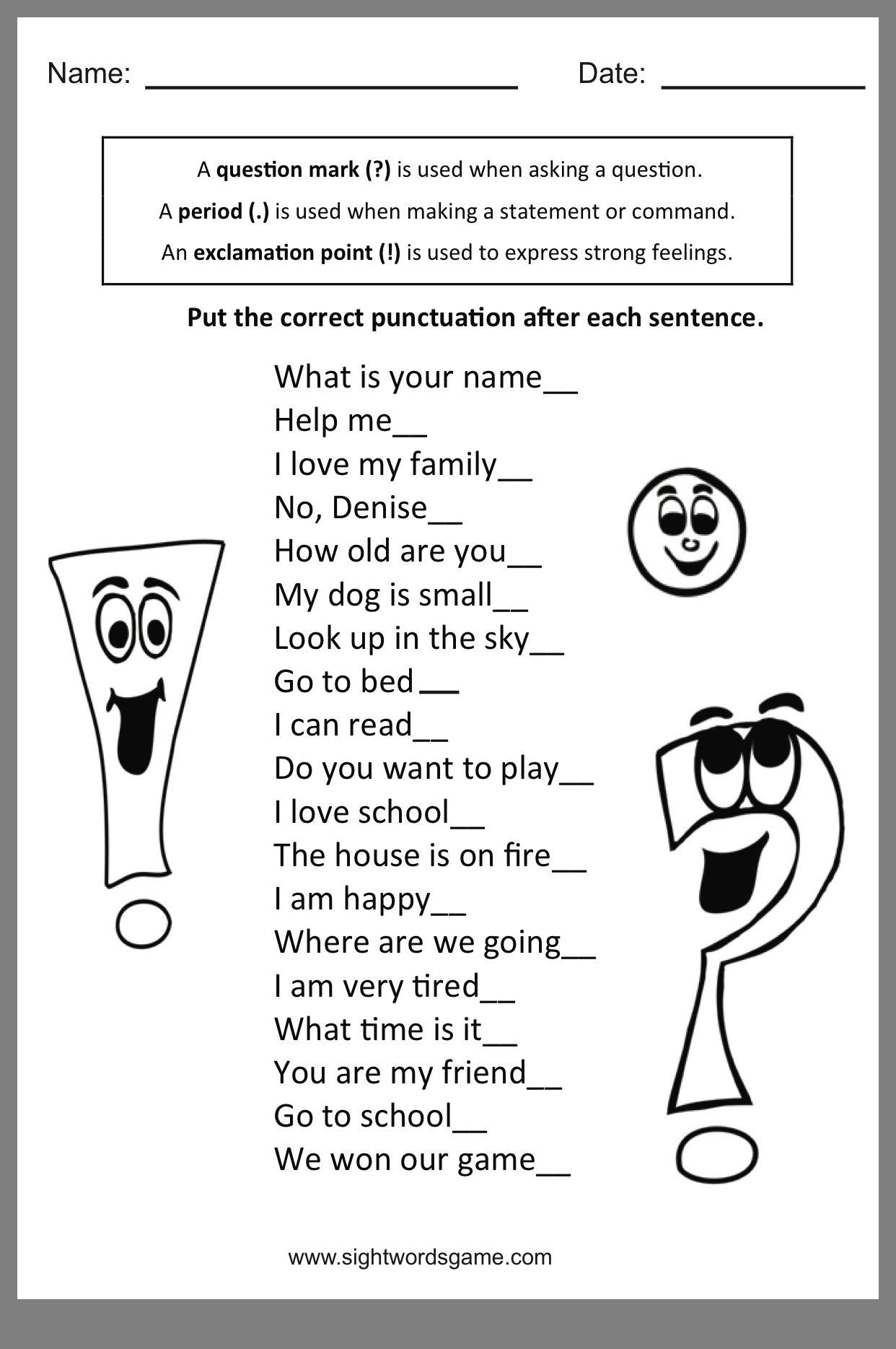 Comma Worksheets 2nd Grade Pin by Anne Gantner On Primary the Daily 5