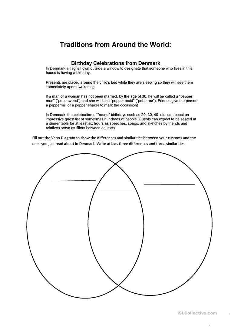 Compare and Contrast Reading Worksheets Pare and Contrast English Esl Worksheets for Distance