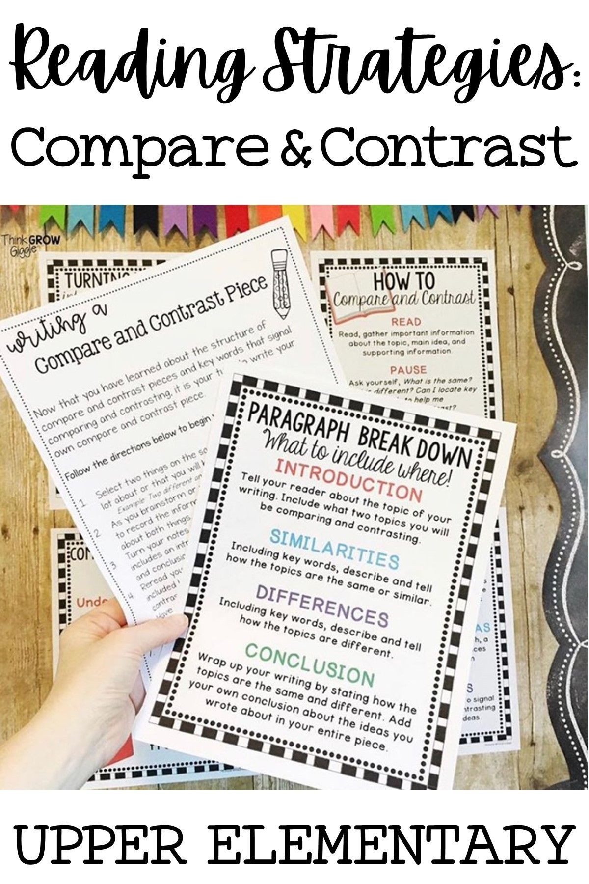 Compare and Contrast Reading Worksheets Pare and Contrast Reading Activities Passages and