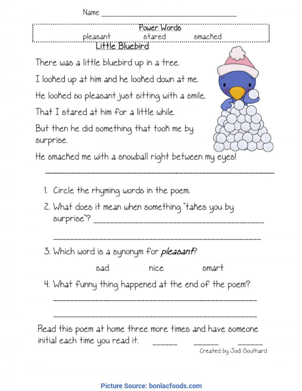 Comprehension Worksheets for First Grade Worksheet First Grade Prehension Worksheets Pdf Reading