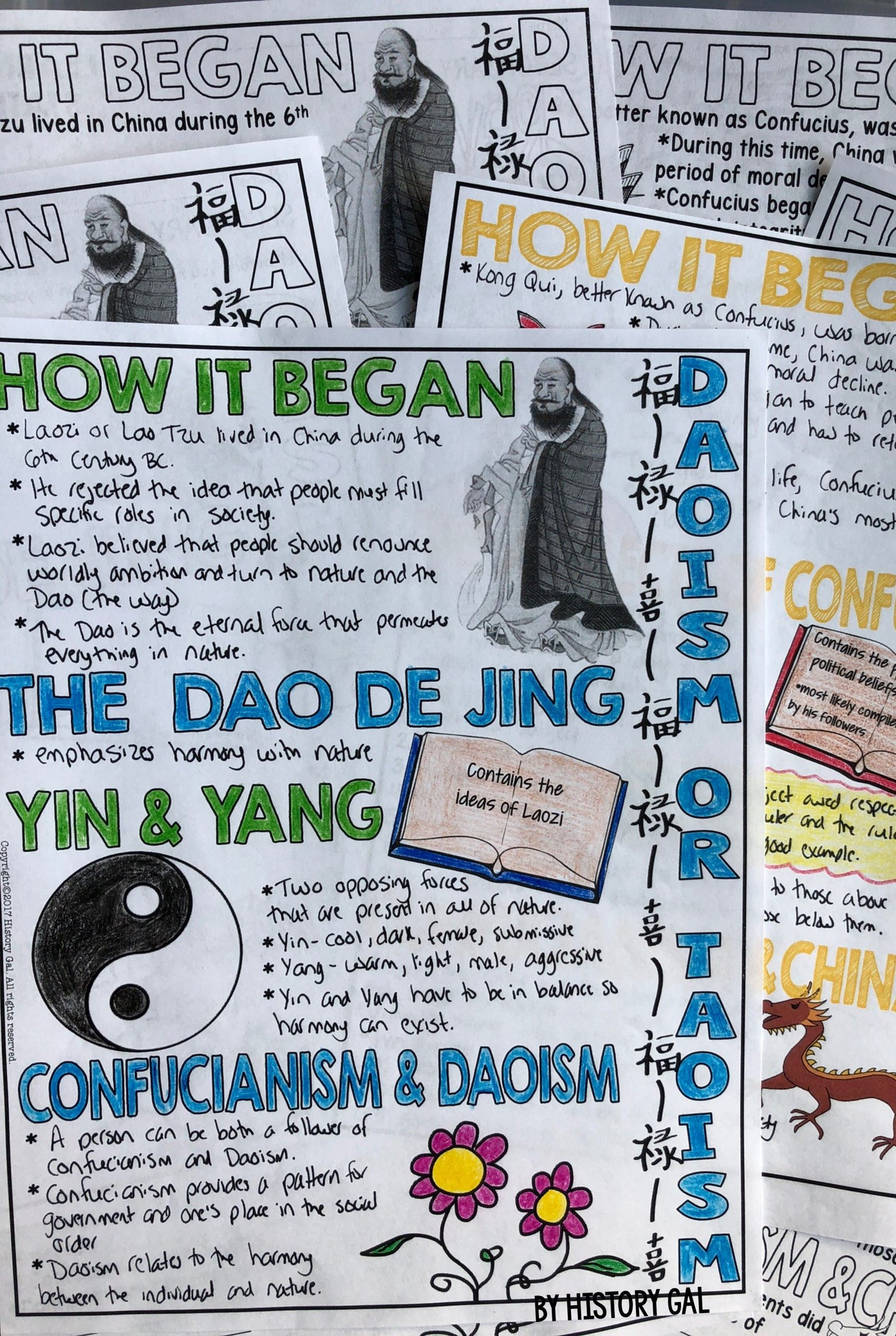 Confucius Worksheet for Middle School Let Your 6th 7th 8th 9th or 10th Grade Classroom and
