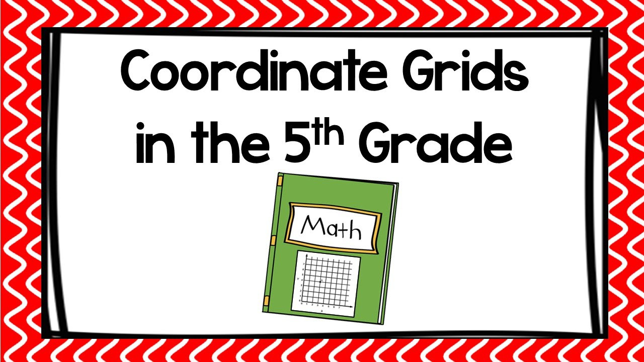 Coordinate Grid Pictures 5th Grade Coordinate Grids In the 5th Grade
