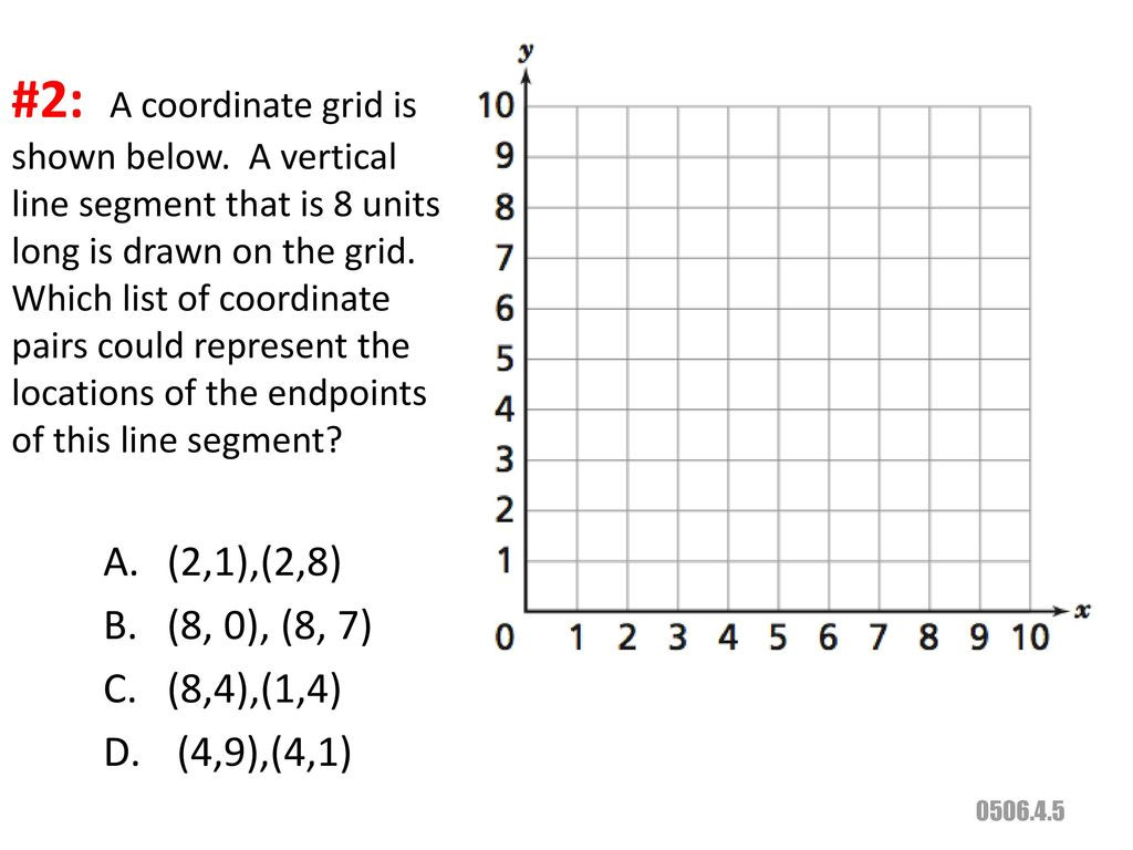 Coordinate Grid Pictures 5th Grade Distance Of Segments In the Coordinate Plane Ppt