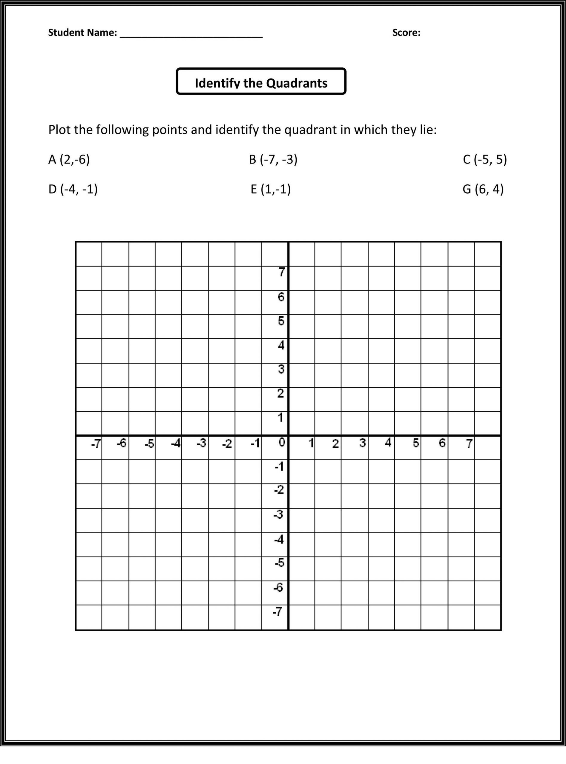 Coordinate Grid Worksheet 5th Grade Pin On Educational Worksheets Template
