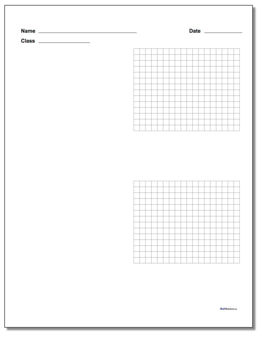 Coordinate Grid Worksheet 5th Grade Printable Graph Paper with Name Block
