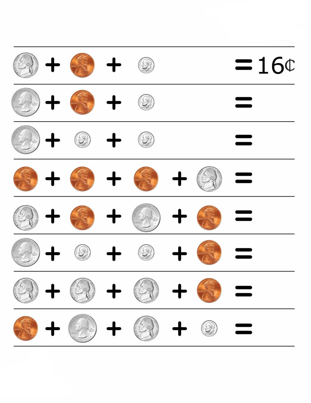 Counting Coins Worksheets First Grade Worksheet 2ndde Math Worksheets Money Coins Worksheet
