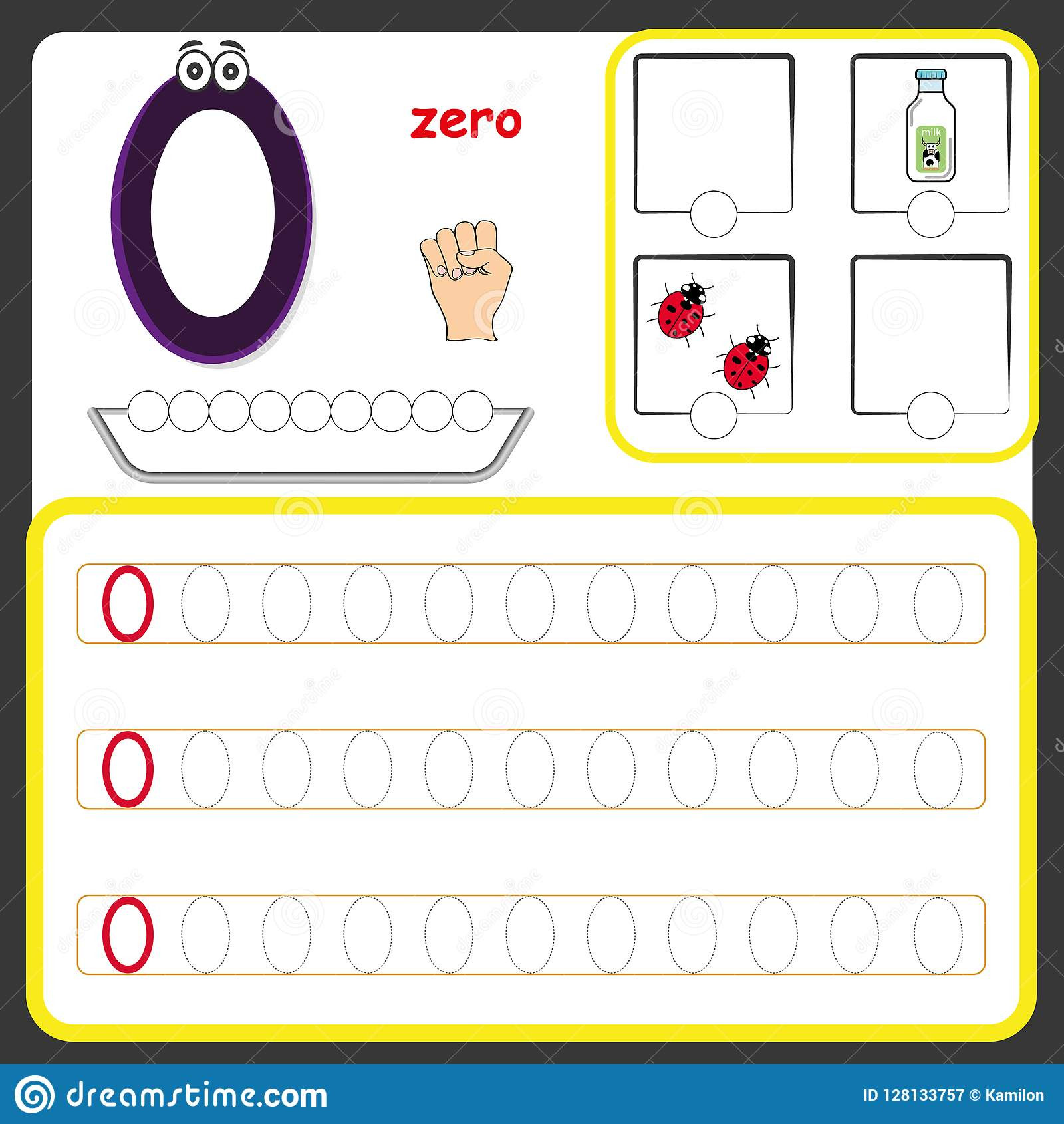 Counting Worksheets Preschool Number Cards Counting and Writing Numbers Learning Numbers